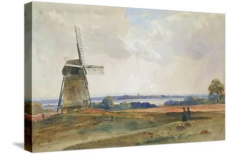 The Windmill, C.1840-Peter De Wint-Stretched Canvas Print