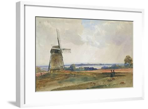 The Windmill, C.1840-Peter De Wint-Framed Art Print