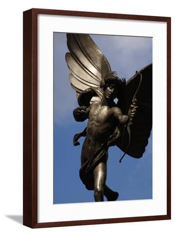 Statue of Anteros, or the Angel of Christian Charity, Shaftesbury Memorial Fountain, Piccadilly…-Alfred Gilbert-Framed Art Print