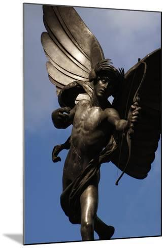 Statue of Anteros, or the Angel of Christian Charity, Shaftesbury Memorial Fountain, Piccadilly…-Alfred Gilbert-Mounted Giclee Print