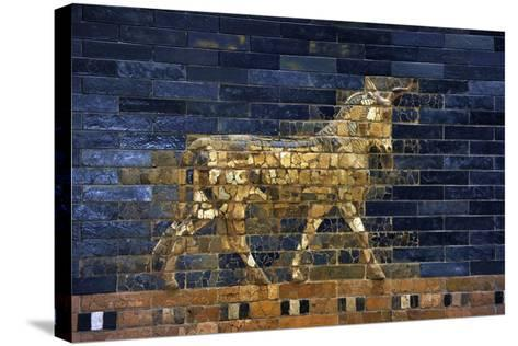 Ishtar Gate. The Eight Gate of the Inner Wall of Babylon. Built in 575 BC by Order to?--Stretched Canvas Print