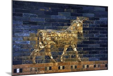 Ishtar Gate. The Eight Gate of the Inner Wall of Babylon. Built in 575 BC by Order to?--Mounted Giclee Print
