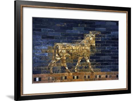Ishtar Gate. The Eight Gate of the Inner Wall of Babylon. Built in 575 BC by Order to?--Framed Art Print