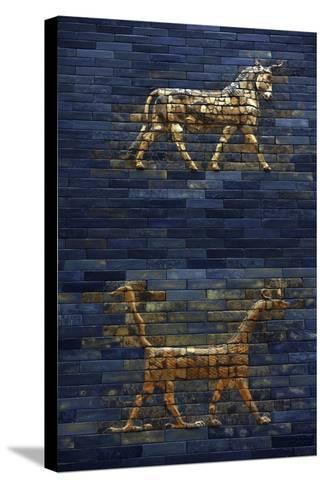 Ishtar Gate. The Eight Gate of the Inner Wall of Babylon. Built in 575 BC by Order to…--Stretched Canvas Print