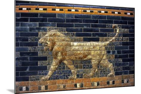 Mesopotamian Art. Neo-Babylonian. The Throne Room of Nebuchadnezzar II. Reconstructed Facade.…--Mounted Giclee Print