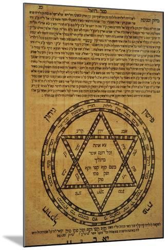 Judaism. Divine Protection. Amulets. Often Consisted of Scrolls Written in Hebrew and the Texts?--Mounted Giclee Print