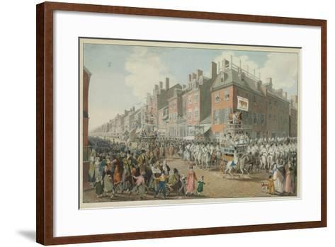 Parade of the Victuallers-Johann Ludwig Krimmel-Framed Art Print