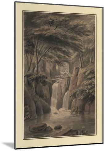 Cascade at Sir Michael Fleming's, 1780-Coplestone Warre Bampfylde-Mounted Giclee Print