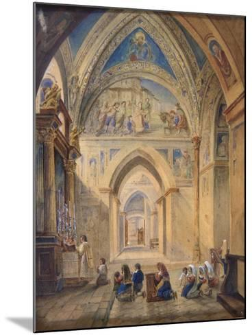 Interior of the Church of St Nicholas, Bari, Italy--Mounted Giclee Print