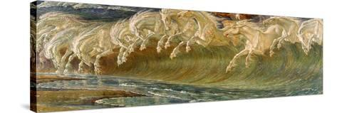 The Horses of Neptune, 1892-Walter Crane-Stretched Canvas Print