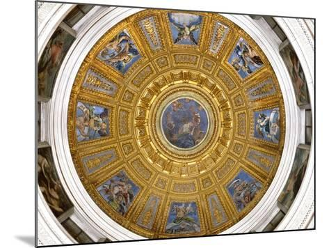 Ceiling of the Chigi Chapel, Santa Maria Del Popolo, Rome--Mounted Photographic Print