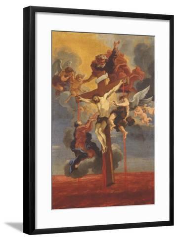 Crucifixion-Gian Lorenzo Bernini-Framed Art Print