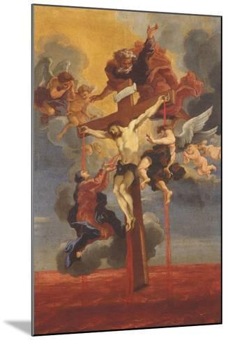 Crucifixion-Gian Lorenzo Bernini-Mounted Giclee Print