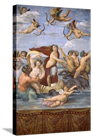 The Triumph of Galatea, C.1514-Raphael-Stretched Canvas Print
