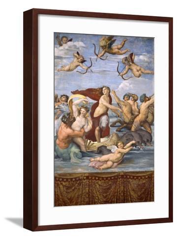 The Triumph of Galatea, C.1514-Raphael-Framed Art Print