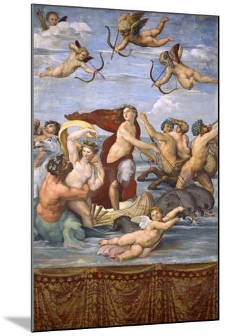 The Triumph of Galatea, C.1514-Raphael-Mounted Giclee Print
