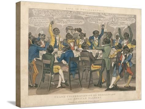 Grand Celebration-L. Harris-Stretched Canvas Print