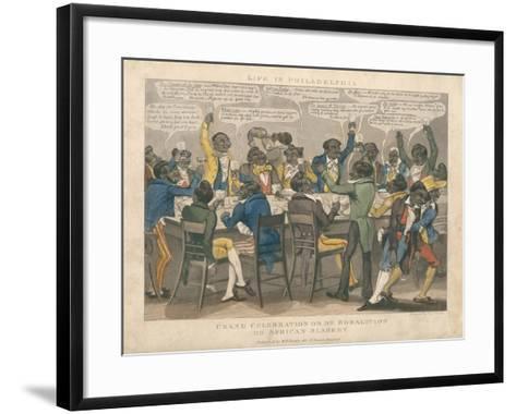 Grand Celebration-L. Harris-Framed Art Print