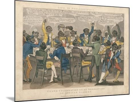 Grand Celebration-L. Harris-Mounted Giclee Print
