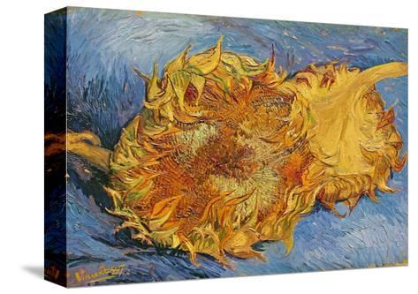 Sunflowers, 1887-Vincent van Gogh-Stretched Canvas Print