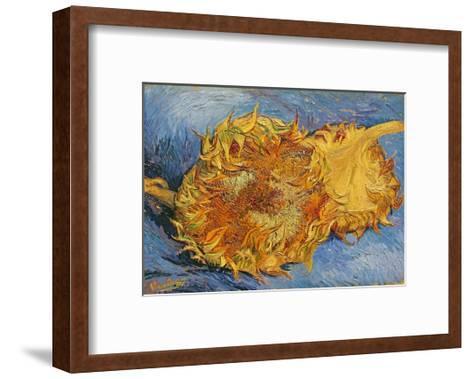Sunflowers, 1887-Vincent van Gogh-Framed Art Print