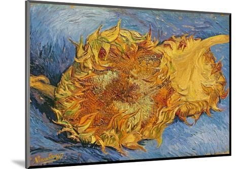 Sunflowers, 1887-Vincent van Gogh-Mounted Giclee Print