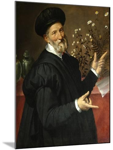 The Botanist-Bartolomeo Passarotti-Mounted Giclee Print