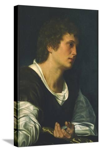 St. John the Evangelist-Giovanni Girolamo Savoldo-Stretched Canvas Print