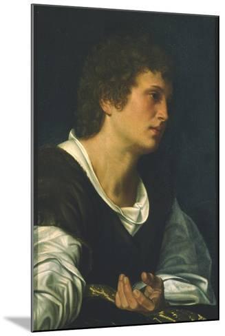 St. John the Evangelist-Giovanni Girolamo Savoldo-Mounted Giclee Print