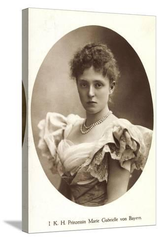 Ak I.K.H. Prinzessin Rupprecht Von Bayern Wittelsbach, Marie Gabrielle--Stretched Canvas Print
