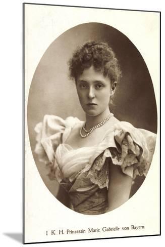 Ak I.K.H. Prinzessin Rupprecht Von Bayern Wittelsbach, Marie Gabrielle--Mounted Photographic Print
