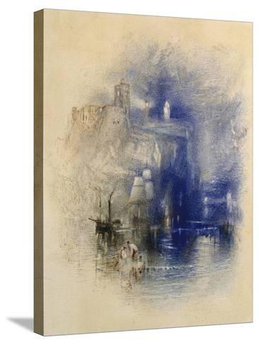 Light-Towers of La Hève, C.1844-J^ M^ W^ Turner-Stretched Canvas Print
