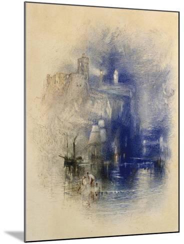 Light-Towers of La Hève, C.1844-J^ M^ W^ Turner-Mounted Giclee Print