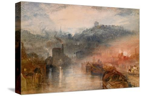 Dudley, Worcestershire, 1830-33-J^ M^ W^ Turner-Stretched Canvas Print