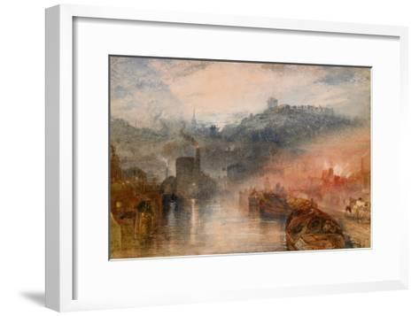 Dudley, Worcestershire, 1830-33-J^ M^ W^ Turner-Framed Art Print