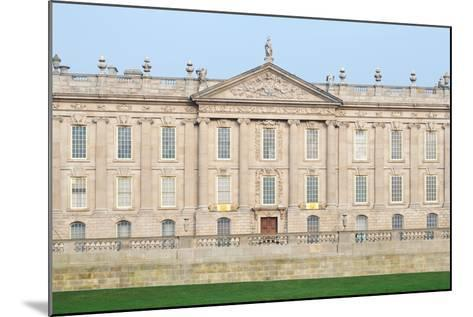 West Front, Chatsworth House, Derbyshire--Mounted Photographic Print