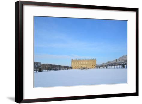 South Front, Chatsworth House, Derbyshire--Framed Art Print