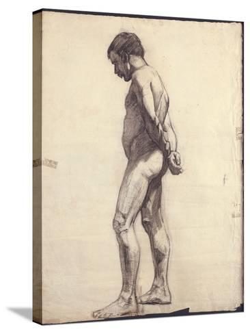 Standing Male Nude-F?lix Vallotton-Stretched Canvas Print