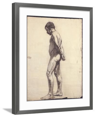 Standing Male Nude-F?lix Vallotton-Framed Art Print
