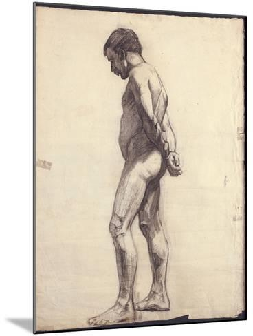 Standing Male Nude-F?lix Vallotton-Mounted Giclee Print
