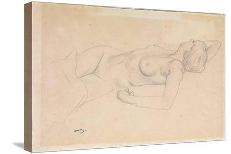 Reclining Nude-F?lix Vallotton-Stretched Canvas Print