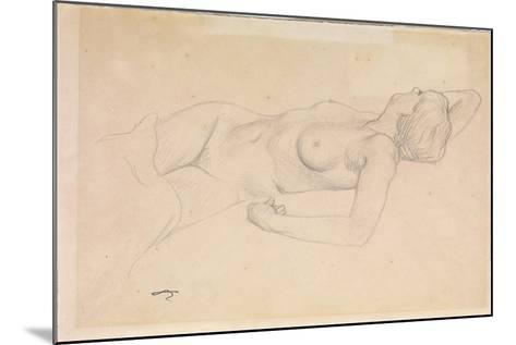 Reclining Nude-F?lix Vallotton-Mounted Giclee Print
