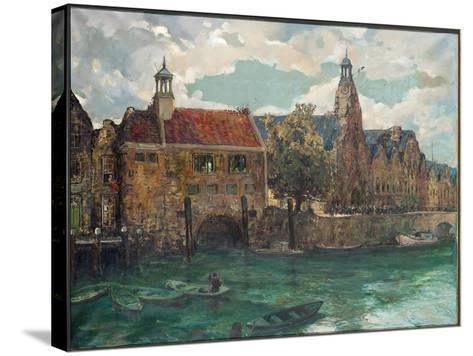 Sunday, Midday at Rotterdam-Alexander Jamieson-Stretched Canvas Print
