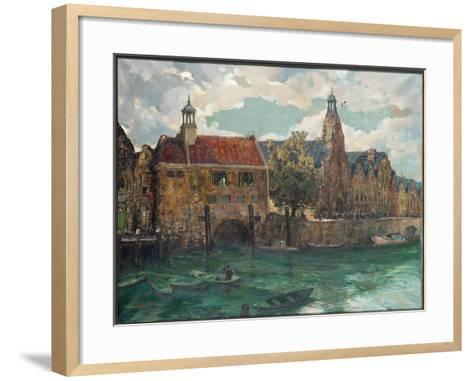 Sunday, Midday at Rotterdam-Alexander Jamieson-Framed Art Print