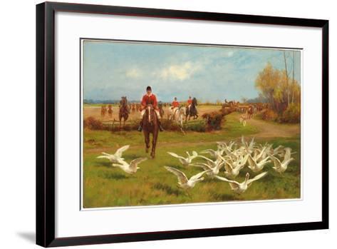 Away! Away!-Thomas Blinks-Framed Art Print