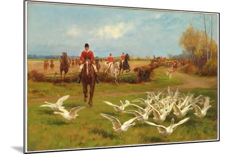 Away! Away!-Thomas Blinks-Mounted Giclee Print