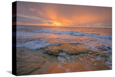 Kauai Daybreak-Vincent James-Stretched Canvas Print