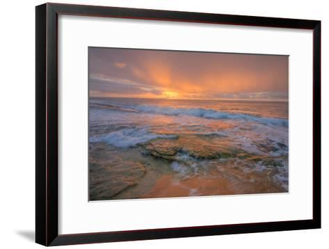 Kauai Daybreak-Vincent James-Framed Art Print
