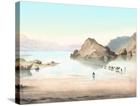 Desert Mirage, 1854 Artwork-Detlev Van Ravenswaay-Stretched Canvas Print