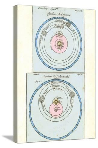 Cosmologies of Copernicus And Tycho-Detlev Van Ravenswaay-Stretched Canvas Print